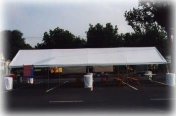 20'x40' frame canopy