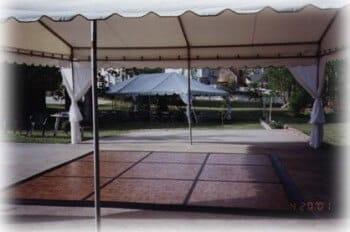 12'x12' dance floor