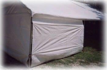 7'x10' canopy sidewall