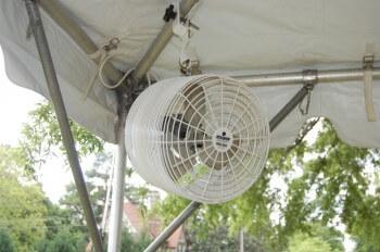 """12"""" tent fan"""